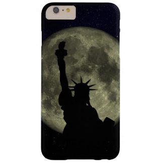Capa Barely There Para iPhone 6 Plus Lua e senhora Liberdade