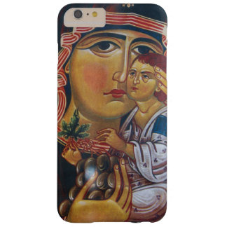 Capa Barely There Para iPhone 6 Plus Mãe Mary e arte de Jesus