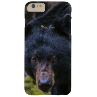 Capa Barely There Para iPhone 6 Plus Majestade do urso preto
