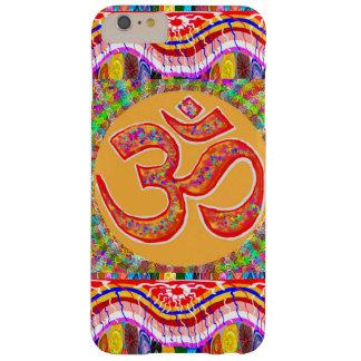 Capa Barely There Para iPhone 6 Plus MANTRA: Indiano da meditação da ioga da hinduísmo