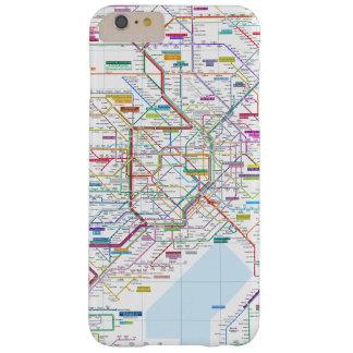 Capa Barely There Para iPhone 6 Plus Mapa de Tokyo
