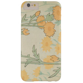 Capa Barely There Para iPhone 6 Plus Margaridas do japonês do vintage