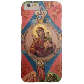 Capa Barely There Para iPhone 6 Plus Mary, Jesus, e anjos