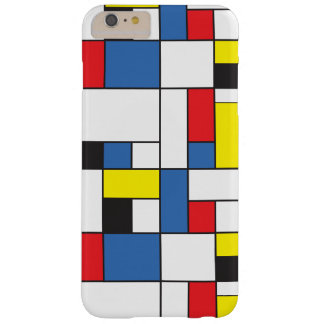 Capa Barely There Para iPhone 6 Plus Mondrian inspirou o caso