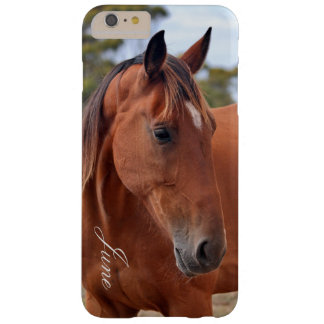 Capa Barely There Para iPhone 6 Plus Monograma do cavalo