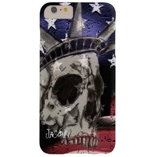 Capa Barely There Para iPhone 6 Plus Morte ou liberdade