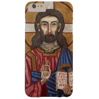 Capa Barely There Para iPhone 6 Plus Mosaico antigo de Jesus