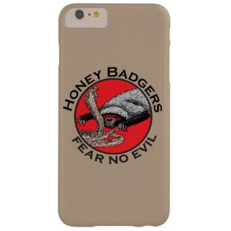Capa Barely There Para iPhone 6 Plus Não tema nenhum design vermelho animal engraçado