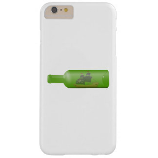 Capa Barely There Para iPhone 6 Plus Navio em uma garrafa
