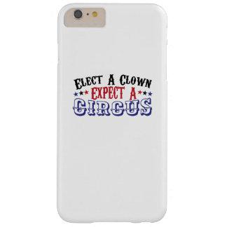 Capa Barely There Para iPhone 6 Plus O Anti-Trunfo engraçado elege um palhaço - espere