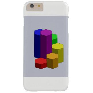 Capa Barely There Para iPhone 6 Plus O arco-íris pisa CAD