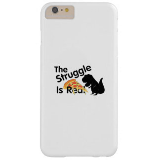 Capa Barely There Para iPhone 6 Plus o dinossauro T Rex o Struggl é pizza real