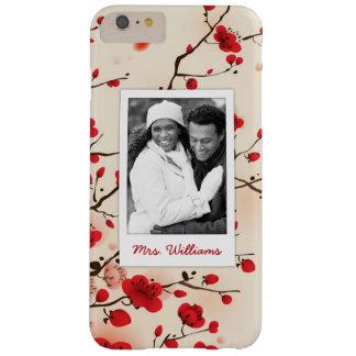 Capa Barely There Para iPhone 6 Plus O estilo oriental da flor que pinta | adiciona a