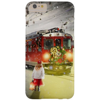 Capa Barely There Para iPhone 6 Plus O papai noel expresso do Pólo Norte - trem do