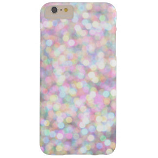 Capa Barely There Para iPhone 6 Plus O rosa Sparkles o iPhone 6/6s mais