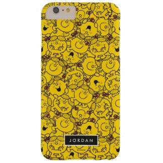 Capa Barely There Para iPhone 6 Plus O teste padrão | dos sorrisos do amarelo do