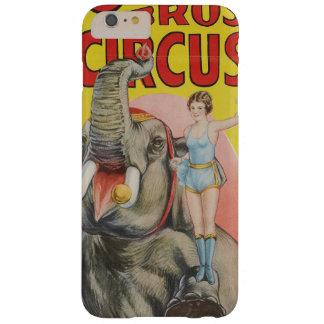 Capa Barely There Para iPhone 6 Plus O ursinho do circo dos irmãos do Cole o elefante