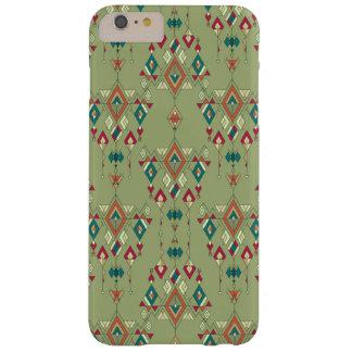 Capa Barely There Para iPhone 6 Plus Ornamento asteca tribal étnico do vintage