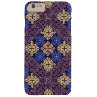 Capa Barely There Para iPhone 6 Plus Ornamento de talavera do mosaico do vintage