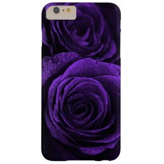 Capa Barely There Para iPhone 6 Plus Os rosas roxos os mais profundos, os mais escuros