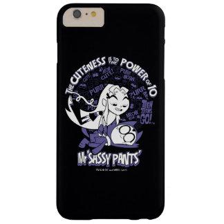 Capa Barely There Para iPhone 6 Plus Os titã adolescentes vão! | Starfire & Sr. Sassy