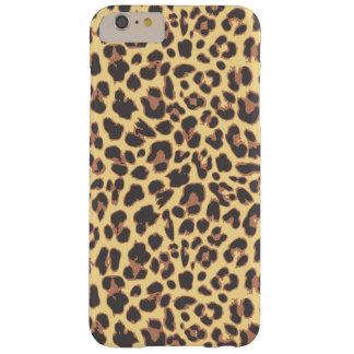 Capa Barely There Para iPhone 6 Plus Padrões da pele animal do impressão do leopardo