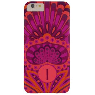 Capa Barely There Para iPhone 6 Plus Paisley emplumado - Pinkoinko
