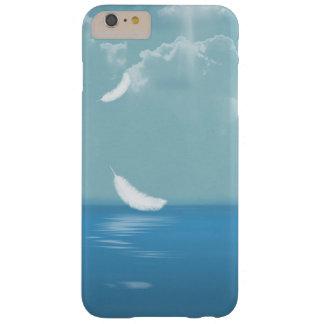 Capa Barely There Para iPhone 6 Plus pena que flutua sobre o oceano