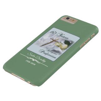 Capa Barely There Para iPhone 6 Plus Personalize, 60 anos de profissão religiosa