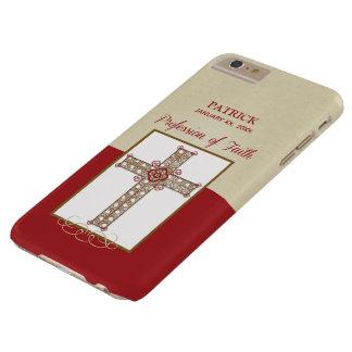 Capa Barely There Para iPhone 6 Plus Personalize, bênçãos de RCIA na profissão da fé