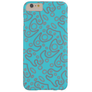Capa Barely There Para iPhone 6 Plus Phonecover azul do design