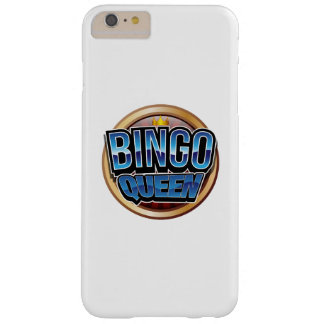 Capa Barely There Para iPhone 6 Plus Presente do jogador do Bingo da rainha do Bingo