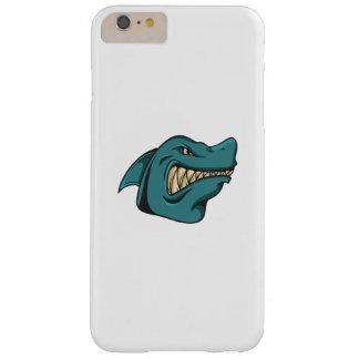 Capa Barely There Para iPhone 6 Plus Presente engraçado engraçado da cara do tubarão