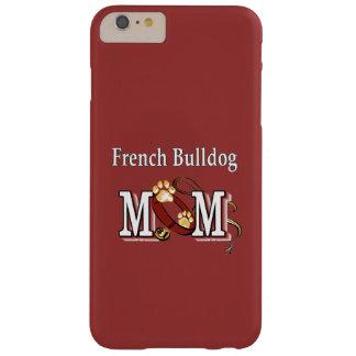 Capa Barely There Para iPhone 6 Plus Presentes da mamã do buldogue francês
