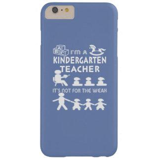 Capa Barely There Para iPhone 6 Plus Professor de jardim de infância - não para o fraco