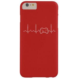 Capa Barely There Para iPhone 6 Plus Pulsação do coração do jogo