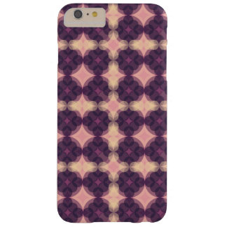 Capa Barely There Para iPhone 6 Plus Purple Kaleidoscope Pattern