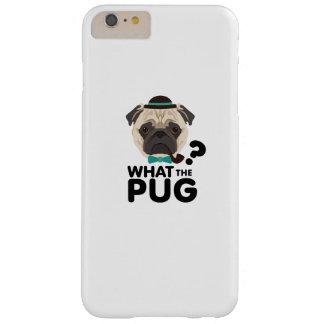 Capa Barely There Para iPhone 6 Plus Que o filhote de cachorro engraçado do animal de