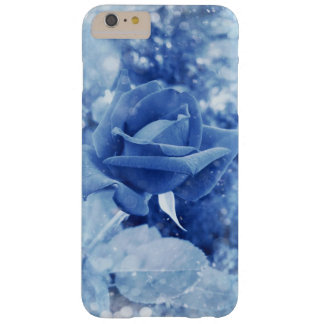 Capa Barely There Para iPhone 6 Plus Rosa original do azul na neve