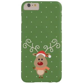 Capa Barely There Para iPhone 6 Plus Rudolph bonito os desenhos animados cheirados