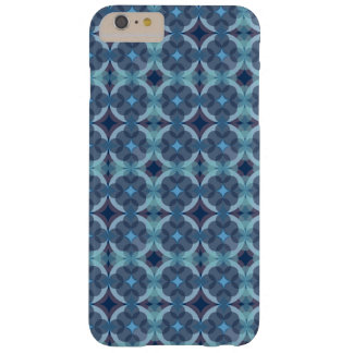 Capa Barely There Para iPhone 6 Plus Sapphire Kaleidoscope Pattern