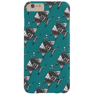 Capa Barely There Para iPhone 6 Plus School_of_Happy_Fish