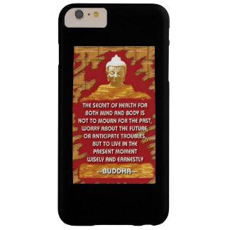 Capa Barely There Para iPhone 6 Plus Segredo da saúde: Citações de Buddha