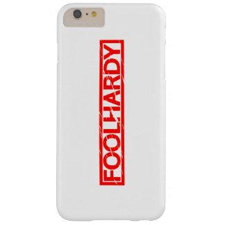 Capa Barely There Para iPhone 6 Plus Selo temerário
