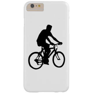 Capa Barely There Para iPhone 6 Plus Silhueta do Bicyclist