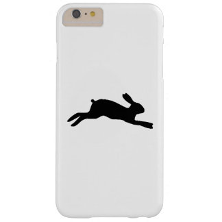Capa Barely There Para iPhone 6 Plus Silhueta do coelho