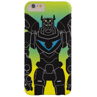 Capa Barely There Para iPhone 6 Plus Silhueta preta de Voltron | Voltron