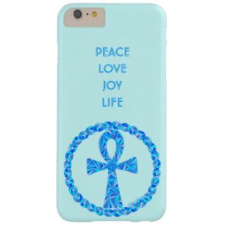 Capa Barely There Para iPhone 6 Plus Símbolo azul Egipto antigo Wicca de Z Ankh