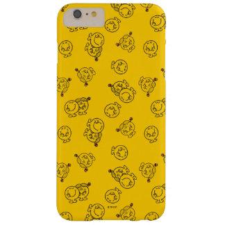 Capa Barely There Para iPhone 6 Plus Sr. Feliz & teste padrão amarelo pequeno da