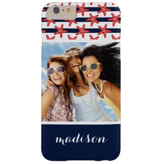 Capa Barely There Para iPhone 6 Plus Teste padrão de bandeira dos Estados Unidos | seus